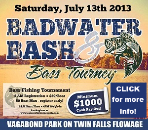 Badwaters Bash & Bass Tourney