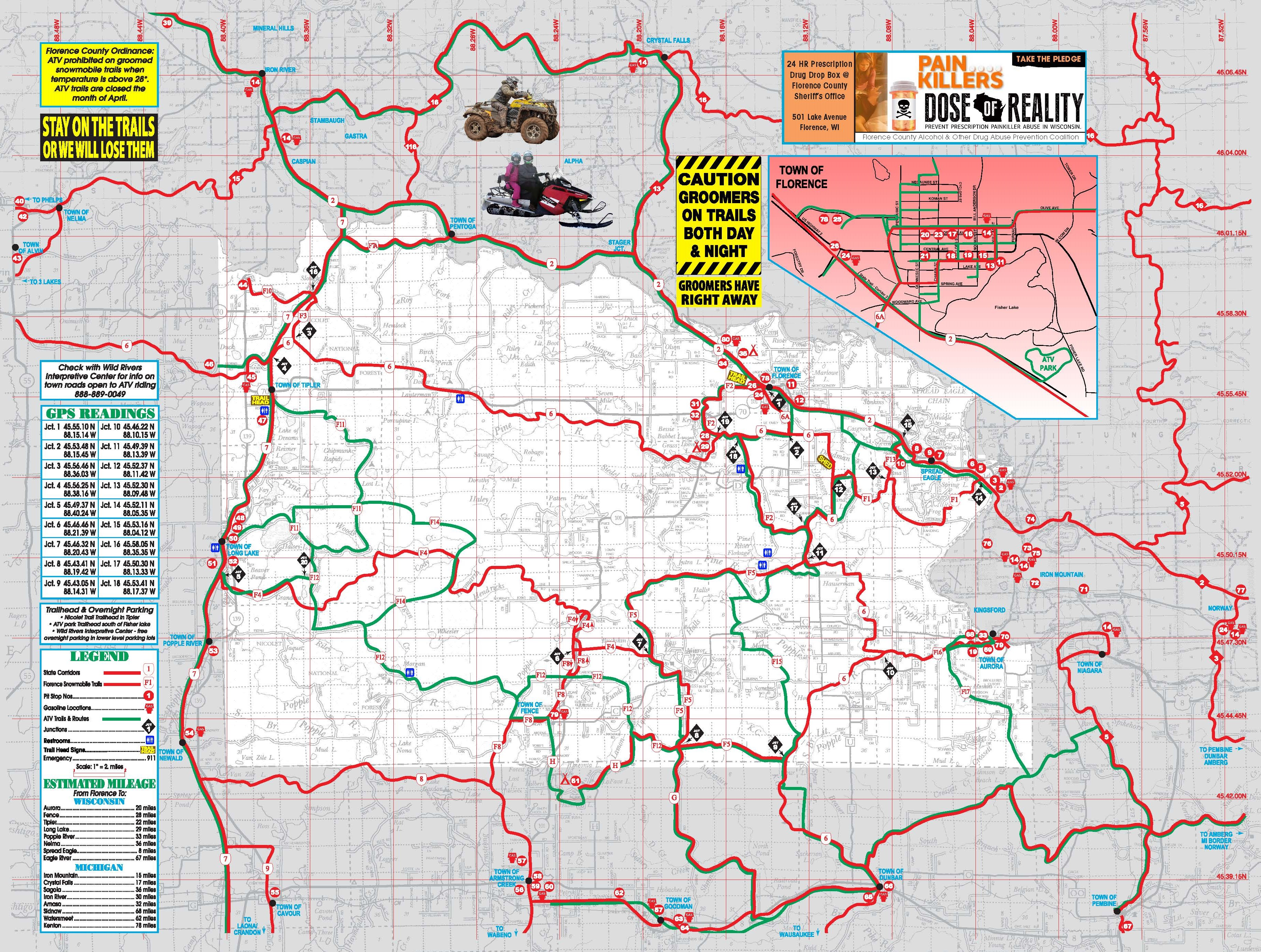 Florence County Recreation Guide Trail Maps